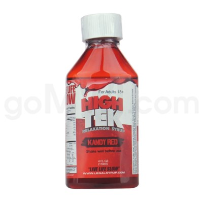 High Tek Syrup 4oz -Kandy Red