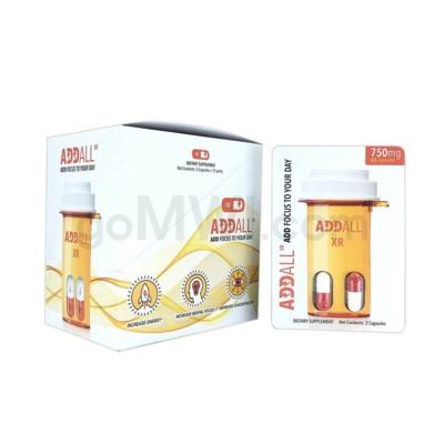Addall XR 750mg 2pk 12ct/bx