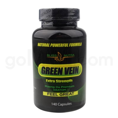 Green Vein Extra Strength Maeng Da 140ct