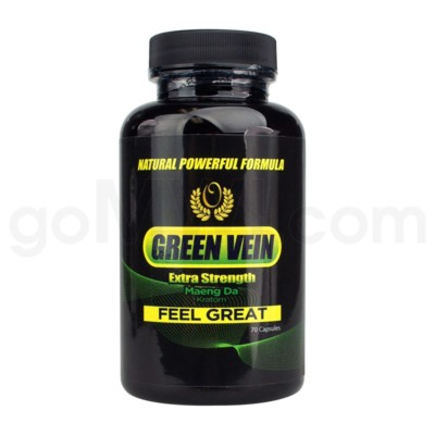 Green Vein Extra Strength Maeng Da 70ct