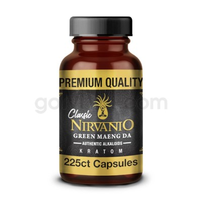Nirvanio Kratom 500mg Maeng Da 225ct Bag