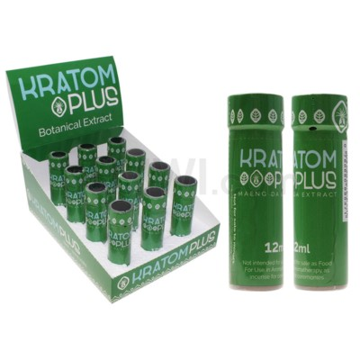 Nirvanio Kratom Plus Shot 12ml 12pc/bx