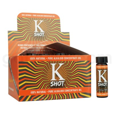 K SHOT Kratom extract (0.5oz/ 15ML) 12pcs/Bx