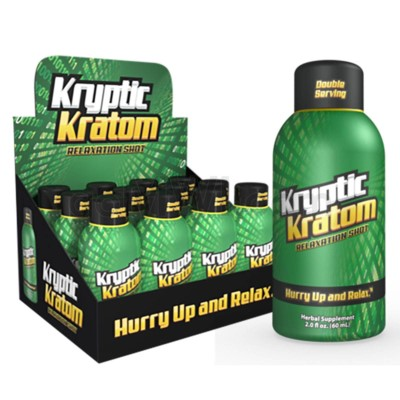 K-Chill Kryptic Kratom Shots 2oz - Kriptic Kratom