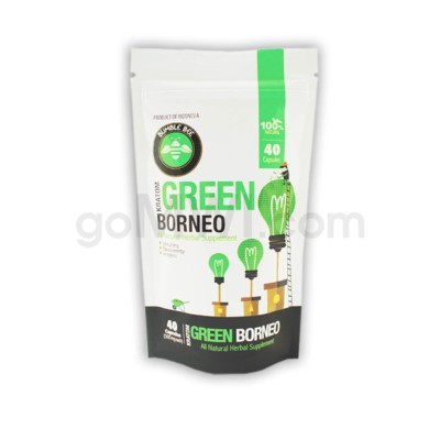 Bumble Bee Kratom - Green Borneo 40 CT