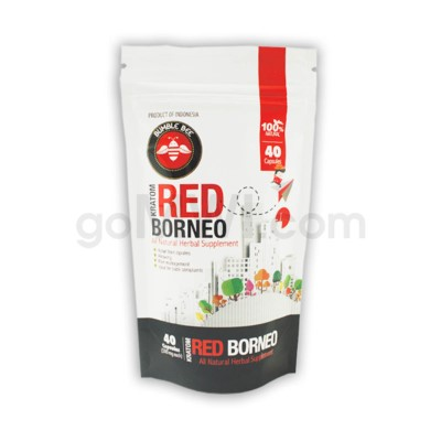 Bumble Bee Kratom - Red Borneo 40 CT