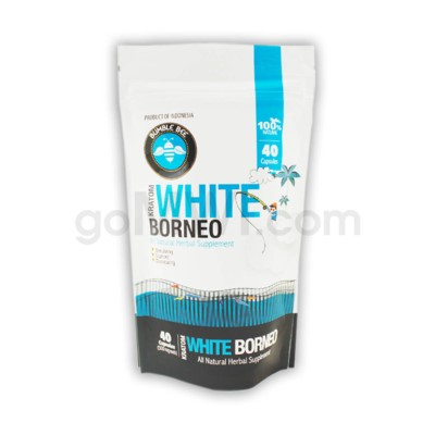 Bumble Bee Kratom -White Borneo 40 CT