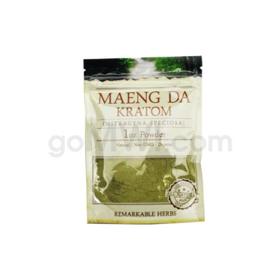 Remarkable Herbs Kratom - Maeng Da Powder 1oz