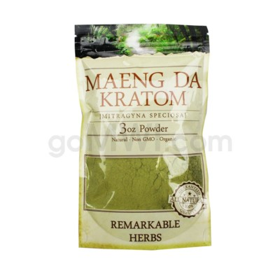 Remarkable Herbs Kratom - Maeng Da Powder 3oz