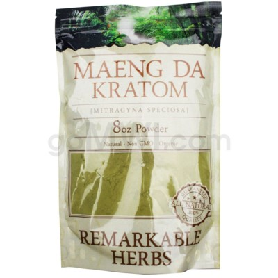 Remarkable Herbs Kratom - Maeng Da Powder 8oz
