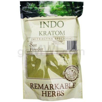 Remarkable Herbs Kratom - Indo Powder 8oz