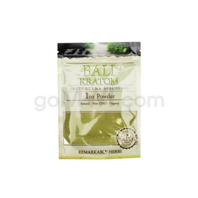 Remarkable Herbs Kratom - Bali Powder 1oz