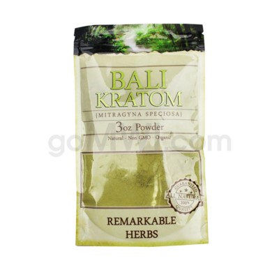 Remarkable Herbs Kratom - Bali Powder 3oz