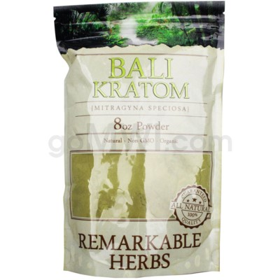 Remarkable Herbs Kratom - Bali Powder 8oz