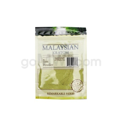 Remarkable Herbs Kratom - Malay Powder 1oz
