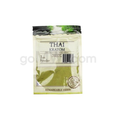 Remarkable Herbs Kratom - Thai Powder 1oz