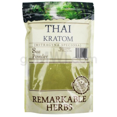 Remarkable Herbs Kratom - Thai Powder 8oz