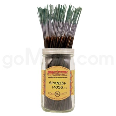 DISC Wildberry Incense Spanish Moss 100/ct