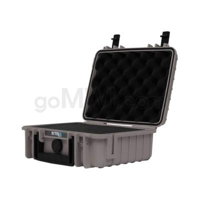 Str8 Case 10' with 2 Layer Pre-cut Foam - Wolf Grey