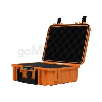 Str8 Case 10' with 2 Layer Pre-cut Foam - Tangie Orange