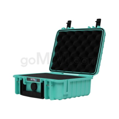 Str8 Case 10' with 2 Layer Pre-cut Foam - Str8 Teal
