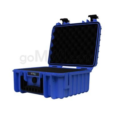 Str8 Case 13' with 3 Layer Pre-cut Foam - Cobalt Blue