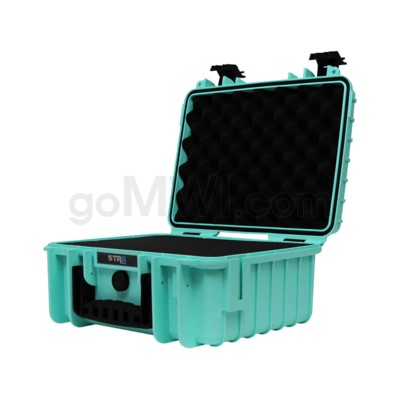 Str8 Case 13' with 3 Layer Pre-cut Foam Str8 - Teal