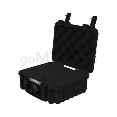 Str8 Case 8' with 2 Layer Pre-cut Foam - Onyx Black