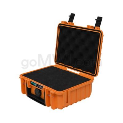 Str8 Case 8' with 2 Layer Pre-cut Foam - Tangie Orange
