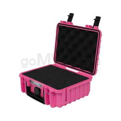 Str8 Case 8' with 2 Layer Pre-cut Foam - Electric Pink