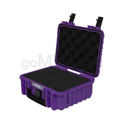 Str8 Case 8' with 2 Layer Pre-cut Foam - Wicked Purple