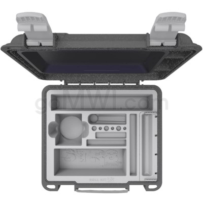 Str8 Roll Kit V3 w/ Rolling Tray & Accessories - Cosmic Grey