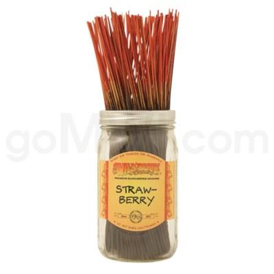 Wildberry Incense Strawberry 100/ct