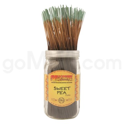 Wildberry Incense Sweet Pea Type 100/ct