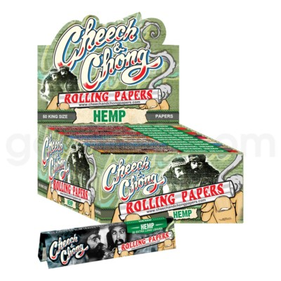 Cheech & Chong Hemp King Size Rolling Papers 50/pk 50ct/bx