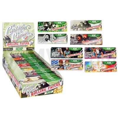 Cheech & Chong Hemp 1.25 Rolling Paper 50/pk 25ct/bx 24/cs