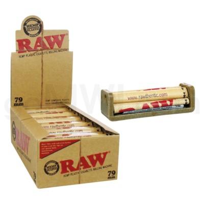 Raw Hemp Plastic Cigarette Rolling Machine 79mm 12CT/BX