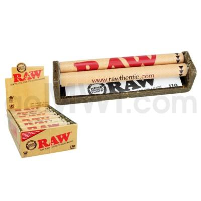 Raw Hemp Plastic Cigarette Rolling Machine 110mm 12CT/BX