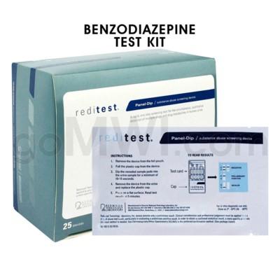 Single Panel Urine Test Strip Benzodiazepine