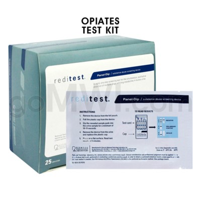 Single Panel Urine Test Heroin Opiates