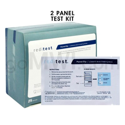 Double Panel Urine Test Marijuana/Cocaine (THC/COC)