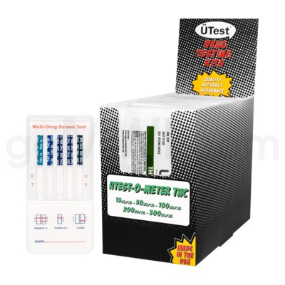 UTest O-Meter 5 Levels Nicotine 25PC/BX