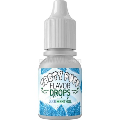 Tasty Puff Flavor Bottle 10ml Cool Menthol