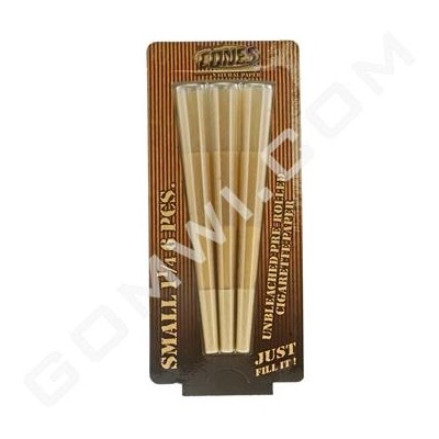 DISC Cones Small unbleached 84mm 1 1/4 6 CT Blister Pack / 5