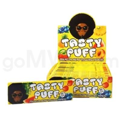 DISC Tasty Puff Hemp Rolling Paper 1.25