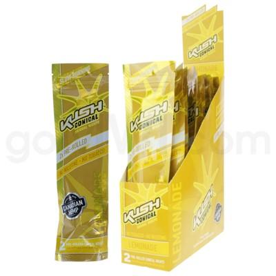 DISC Kush Conical Herbal Wraps 2pk 15ct -Lemonade