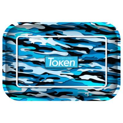 Toke Token Blue Camo Tray Medium 50/cs 11.75