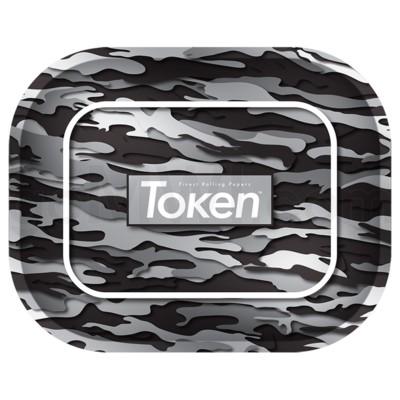 Toke Token Black Camo Tray Small 50/cs 7.75x6.22