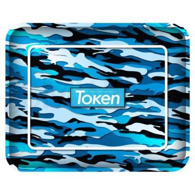 Toke Token Blue Camo Tray Extra Large 50/cs 14.25