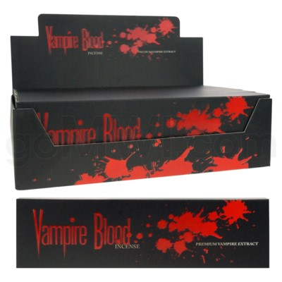 DISC Vampire Blood Incense 100g/6ct